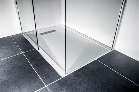 traymate linear 900 x 900 shower tray the bathroom cellar - Bath Shower Tray