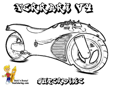 free ferrari coloring pages book for kids boys com pin ferrari f40 colouring pages on pinterest