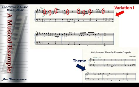 themes and variations exles theme and variations form raymelograne com