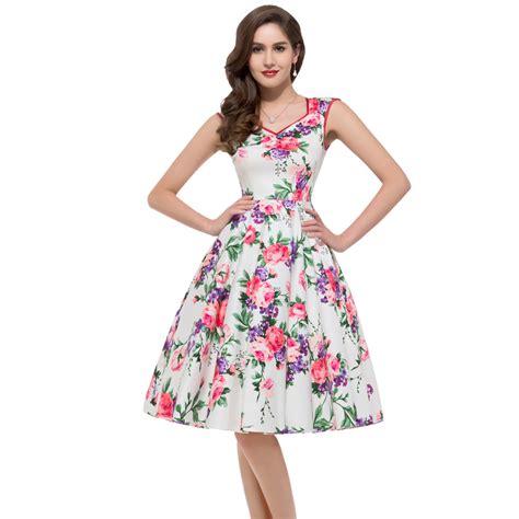 Dress Azum 2015 summer desigual floral rockabilly dress 50s