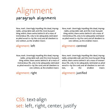typography alignment web typography for non designers