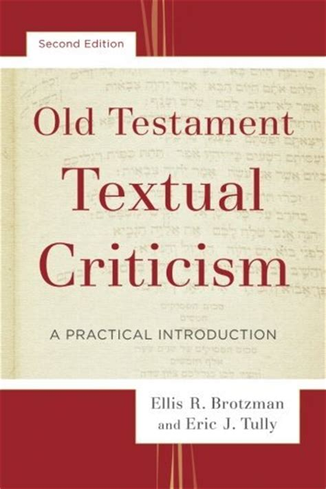 a new approach to textual criticism an introduction to the coherence based genealogical method resources for biblical study 80 books books at a glance reviews archive books at a glance