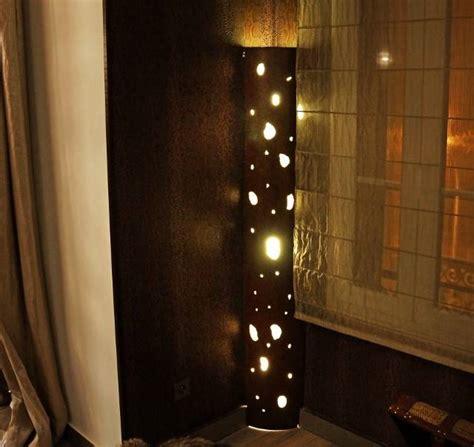 colonne de lumineuse r 233 alisation de colonnes lumineuses en fer perfor 233 224 toulon d 233 corateur d int 233 rieur martigues nad