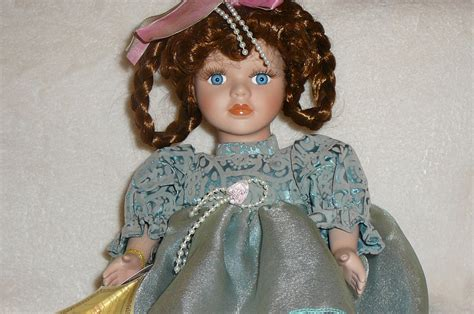 bisque porcelain doll quot carolyn quot musical bisque porcelain doll