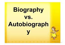 biography vs autobiography powerpoint 2 free esl autobiography powerpoint presentations exercises