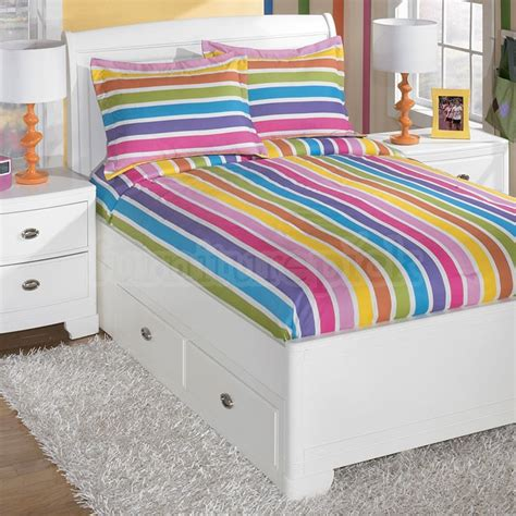 homeofficedecoration rainbow bedding sets