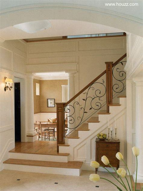 pasamanos de escaleras interiores arquitectura de casas soportes de barandas y pasamanos de