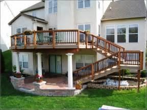 back patio deck ideas concrete patio deck ideas cool