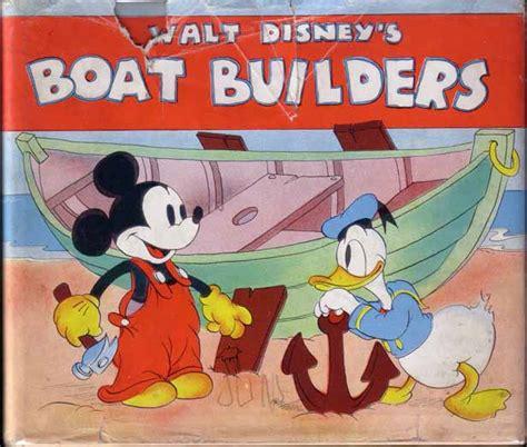 cartoon boat builder mickey mouse the boat builder walt disney