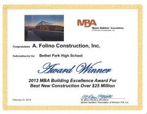 Mba Login Bethel by Projects Folino Construction