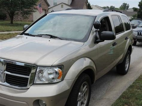 dodge durango third row seat purchase used 2008 dodge durango low 3rd row