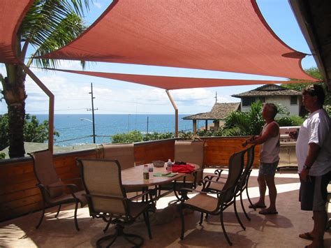 shade sail backyard misc residential
