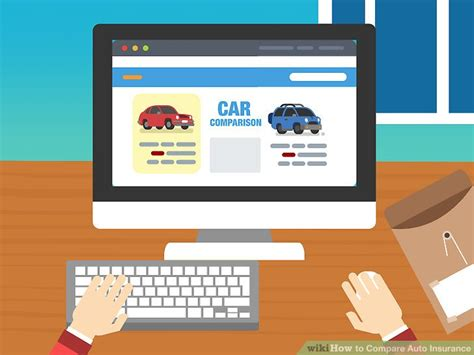 Compare Car Insurance 2 by 4 Ways To Compare Auto Insurance Wikihow