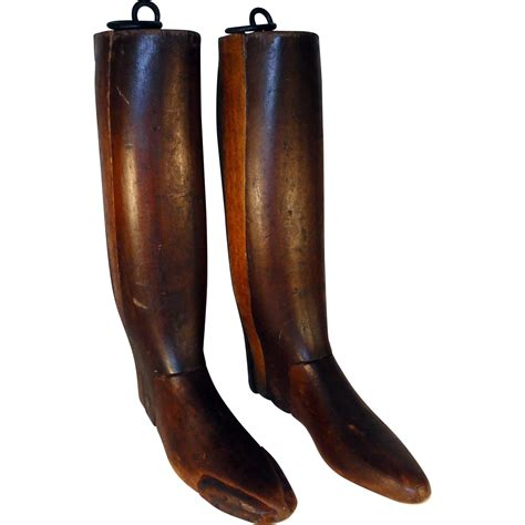 boot stretchers pair of signed 1900 s equestrian boot stretchers from 14 e