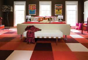 colorful living room carpet tiles decoist