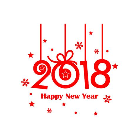 wall stickers shop kakuder wall sticker 2018 happy new year merry