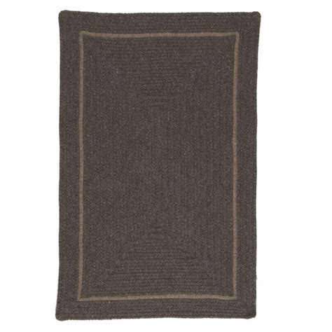 brown accent rug surya jill rosenwald brown 2 ft x 3 ft flatweave accent