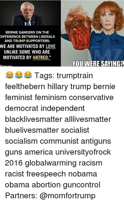 early lives a contrast between bernie sanders and hillary bernie sanders on the difference between liberals and