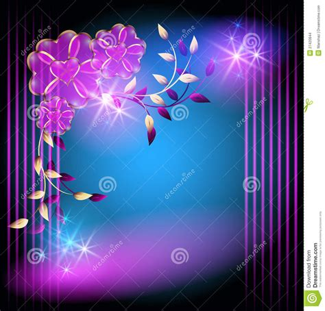 imagenes en movimiento magicas flores y estrellas m 225 gicas ilustraci 243 n del vector imagen