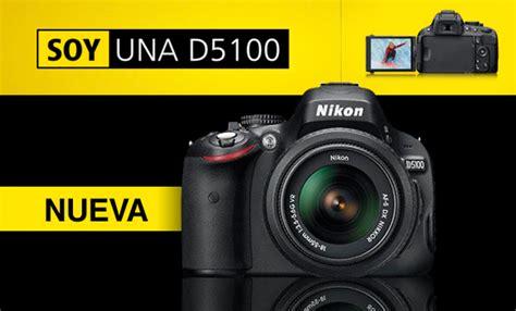 camara reflex nikon d5100 precio camara reflex srl nikon d5100 con lente 18 55vr nueva c