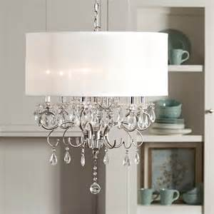 Dining Room Drum Chandelier Drum Shade Chandelier In Different Dining Rooms To Try Traba Homes