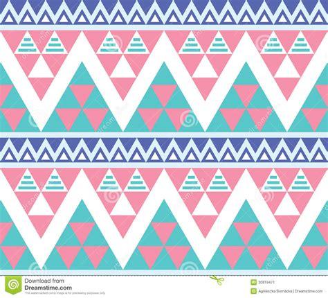 aztec tribal pattern vector tribal aztec colorful seamless pattern stock illustration