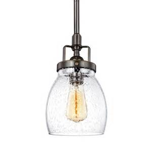 Shop sea gull lighting belton 5 37 in heirloom bronze industrial mini