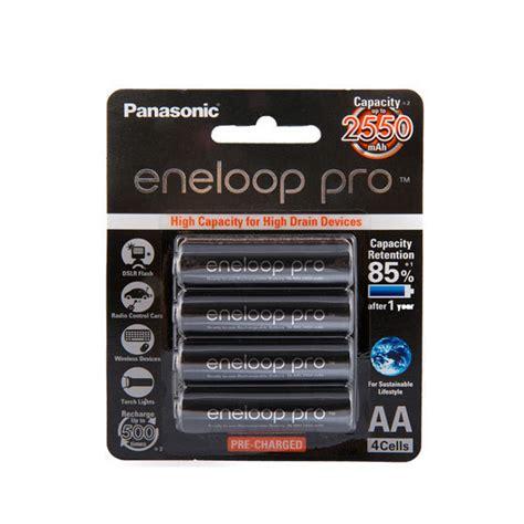 Panasonic Eneloop Smart Charger Aa 4pcs 1 5h panasonic eneloop pro aa rechargable batteries 2550mah black pack 4pcs photo equipment store