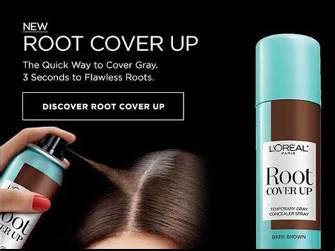 loreal hair color spray l oreal hair color up spray review root cover up