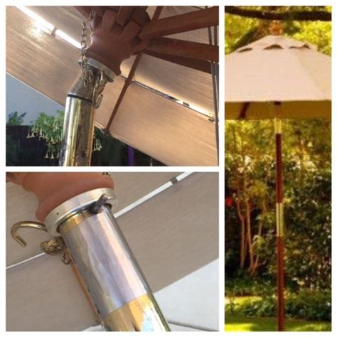How To Fix A Patio Umbrella A And Easy Fix For A Broken Market Umbrella Tilt Mechanism Made Of 3m Stainless Steel