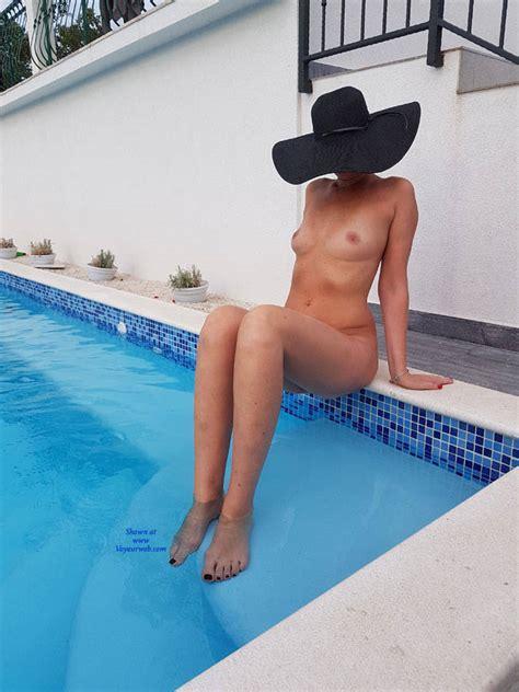 Sitting Naked At The Pool September Voyeur Web