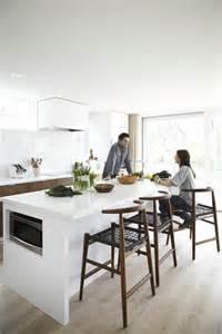 Merveilleux Ilot Central De Cuisine Pas Cher #8: 1-îlot-de-cuisine-blanc-cuisine-avec-ilot-central-aménagement-de-cuisine-pas-cher.jpg