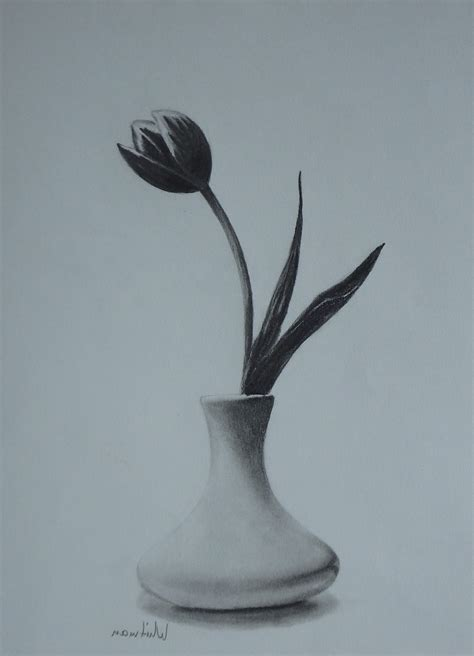 Pencil Drawing Flower Vase by Gallery Pencil Sketch Flower Vase Drawing Gallery