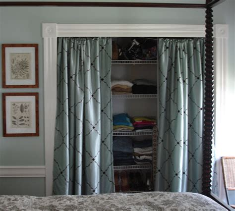 Instead Of Closet Doors by Loft Cottage Tuesday Tip Curtains As Doors