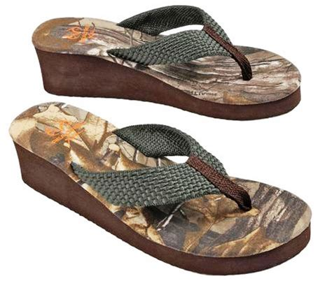 Sandal Distro Camo 5 realtree summer flip flop wedge camo sandals ebay