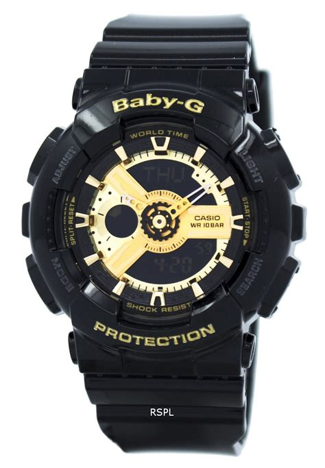 Casio Baby G Ba 110jm 1a casio baby g world time analog digital ba 110 1a womens citywatches co nz