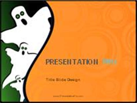 ghost themes for ppt halloween ghosts powerpoint template background in holiday