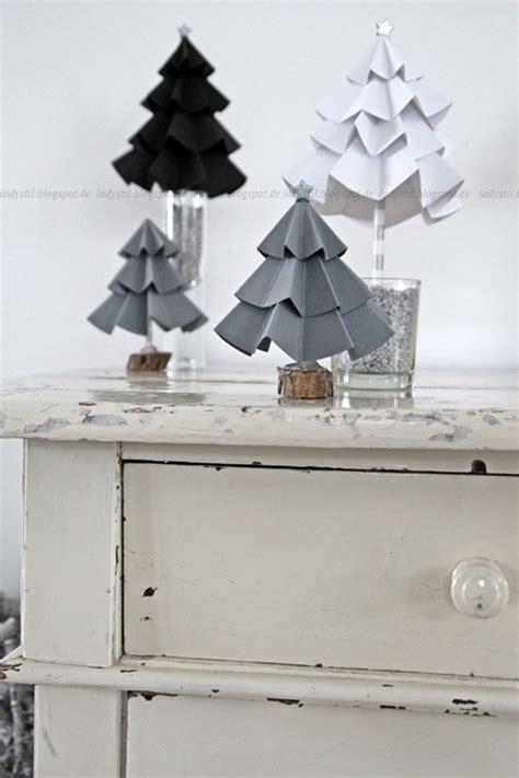 diy tannenbaum aus pappe xmas origami and christmas tree
