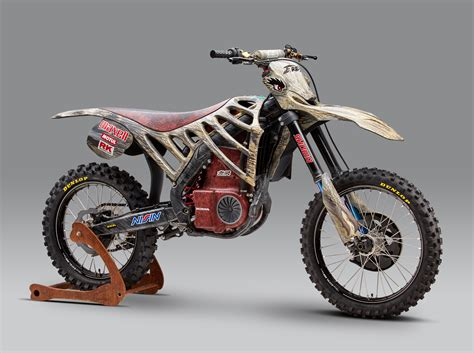 motocross racing bikes mugen debuts an electric motocross race bike asphalt