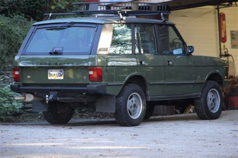 green range rover classic 1987 range rover classic eastnor green lots of extras