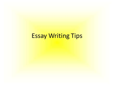 Essay Writing Resources by Essay Writing Tips By Rshades Teaching Resources Tes
