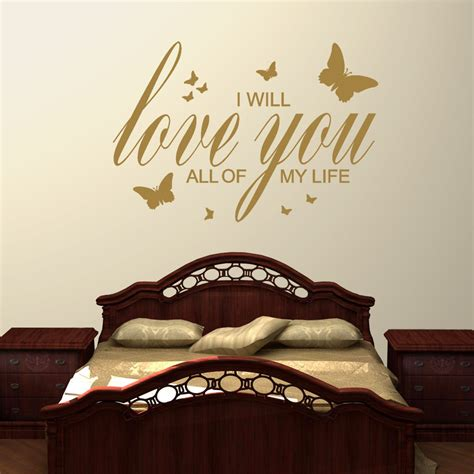 i will love you 2 wall stickers decals