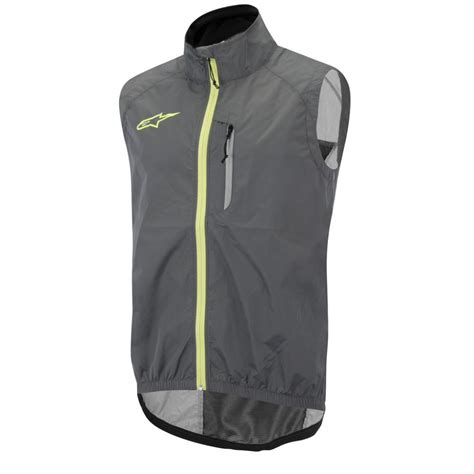windproof cycling vest wiggle alpinestars descender windproof vest cycling gilets
