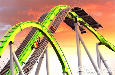 theme park editor happy valley chongqing goes vertical theme park review