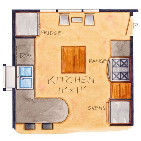 11 x 11 kitchen floor plans our favorite small kitchens that live large