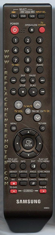 buy samsung ak59 00084a 00084a ak5900084a dvd recorder dvdr remote