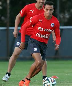 alexis sanchez history jorge saoli relishing a chance to change history as