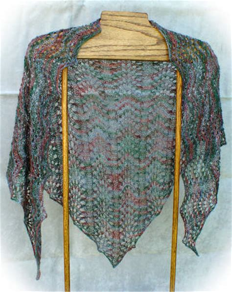 triangle pattern knitting triangle knit pattern free patterns