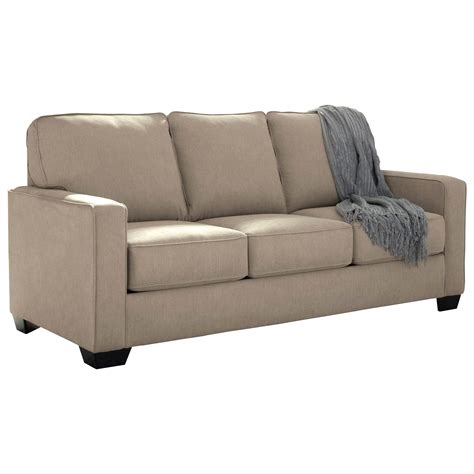 signature design by zeb sofa sleeper with
