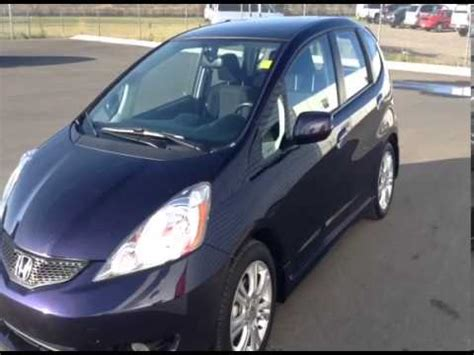 purple honda fit used purple 2009 honda fit 4 door hatchback davis